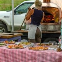 Brick Oven Pizza Food Truck